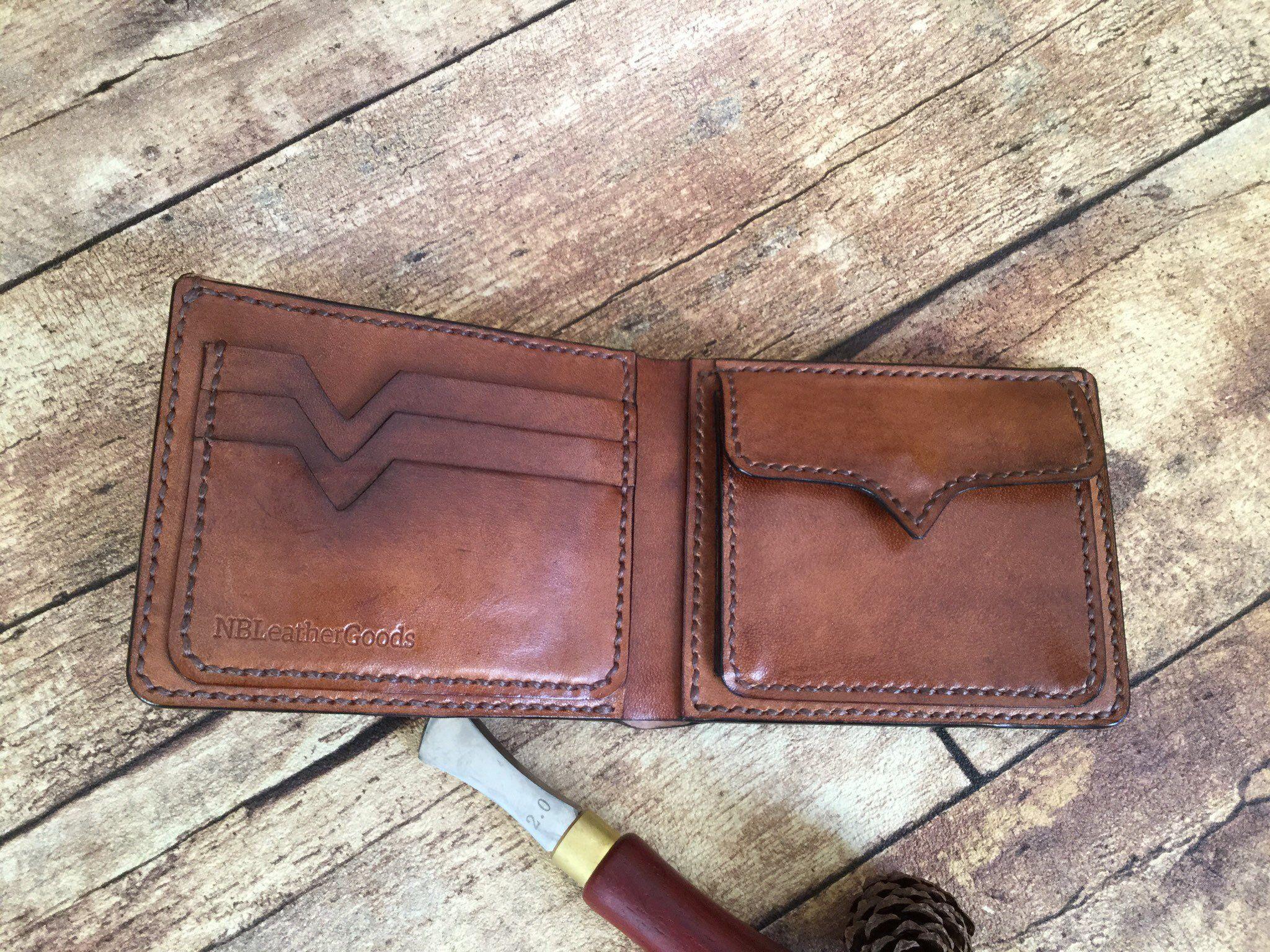 selezione migliore 4dd17 c87fc In pelle portafoglio, titolare della carta, borsa; fatto a ...