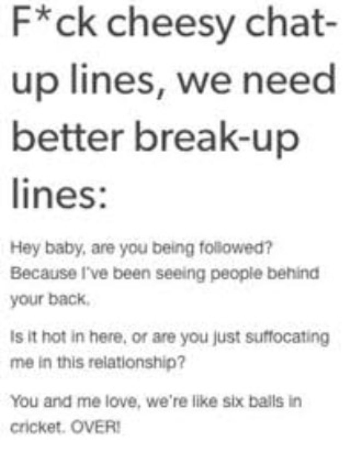 Pin By Conservativechick9mm On Funny Tumblr Funny Funny Breakup