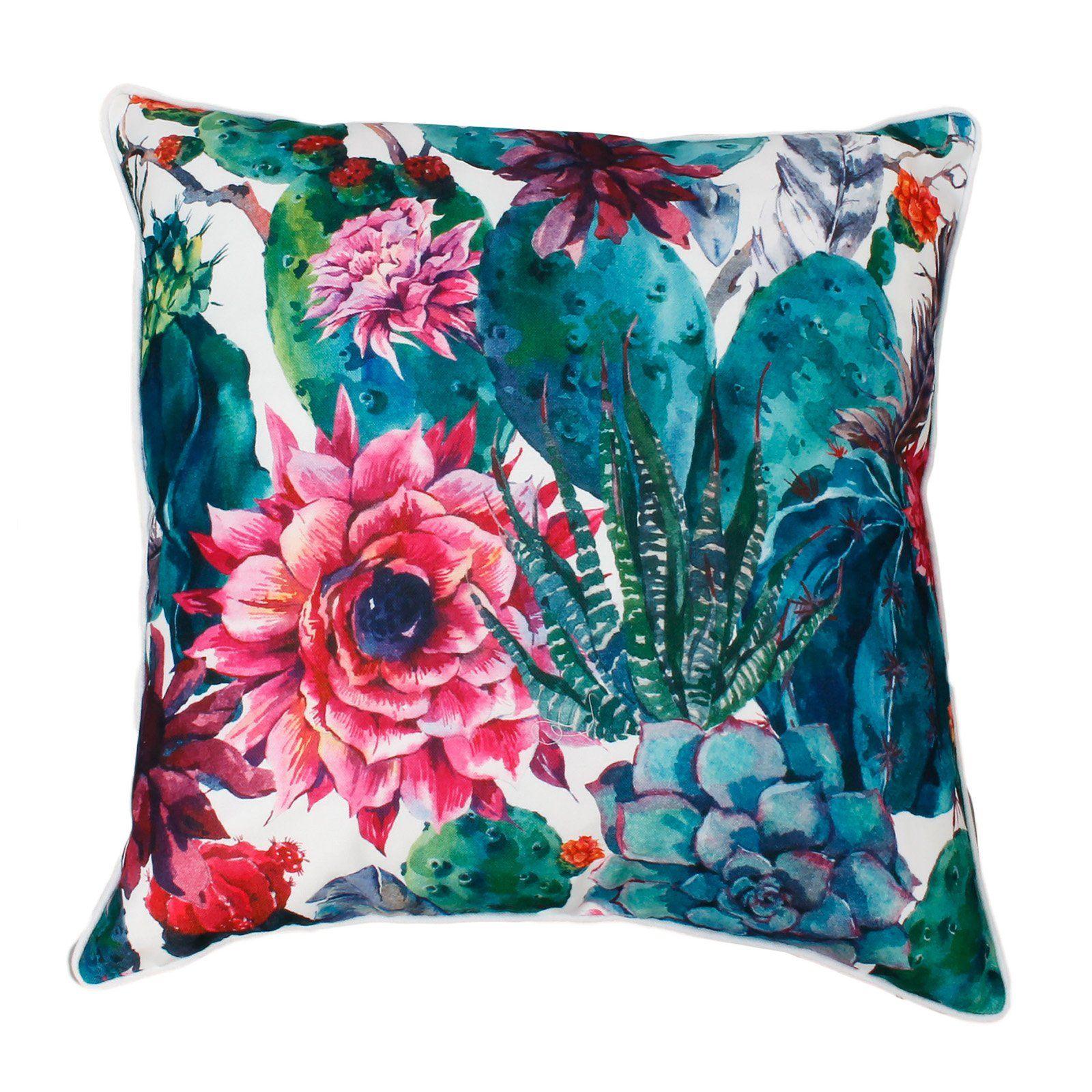 Cindy Succulent Decorative Pillow