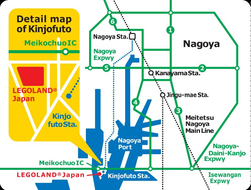 legoland-map NAGOYA   Asia - North - Japan   Pinterest   Legoland ...