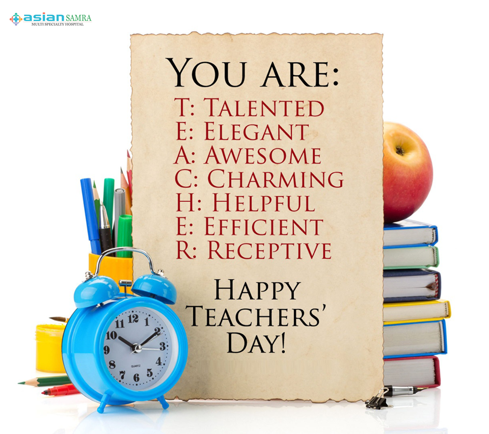 Happy Teachers Day Teachers Day Greetings Teachers Day Wishes Teachers Day Greeting Card