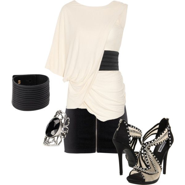 A Nite Out, created by gardengrandmaw on Polyvore