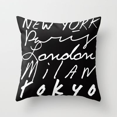 Fashion Capitals of the World Throw Pillow. My HouseBusiness IdeasThrow ... & Fashion Capitals of the World Throw Pillow | Throw pillows ... pillowsntoast.com
