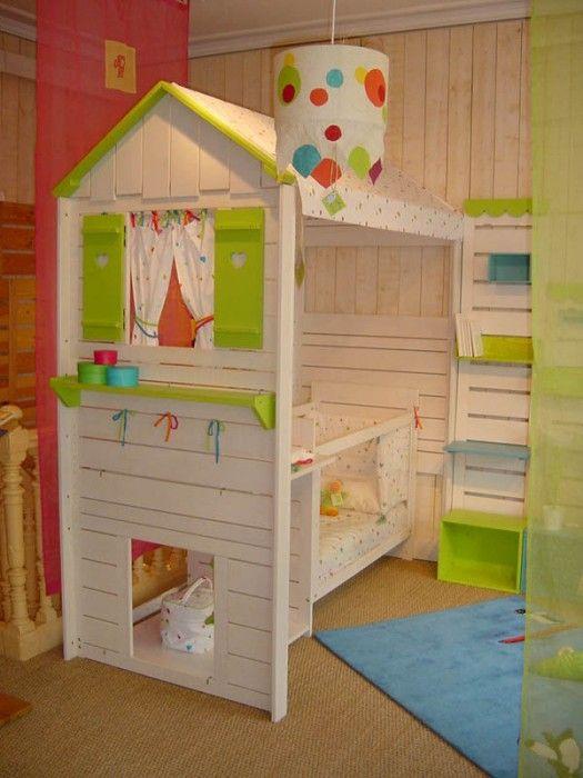 lit cabane lit en hauteur pinterest lit cabane lit. Black Bedroom Furniture Sets. Home Design Ideas
