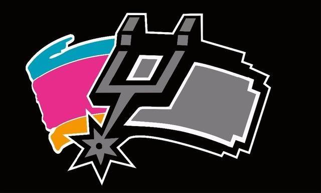 0e89ec1aebe San Antonio Spurs  Half New and Half Old Logo Flag  3 x5