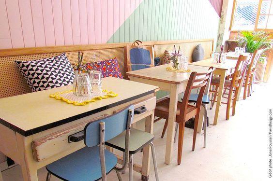 Saam Revisite La Food Coreenne Rue De Lancry Salon De The Paris Interieurs Cafe Salon De The