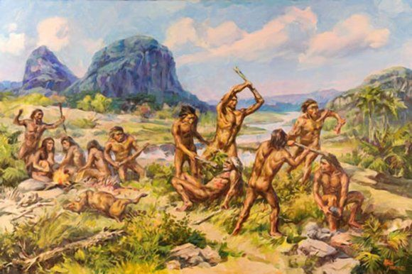 a comparison of hunting and gathering and agriculture in the early prehistoric society The society we live in did not spring up overnight human societies have evolved slowly over many millennia however, throughout history, technological developments have sometimes brought about dramatic change that has propelled human society into its next age hunting and gathering societies.