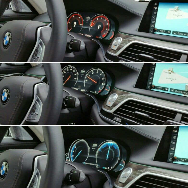#2016 #BMW #7series #750Li #dashboard Instrument Cluster