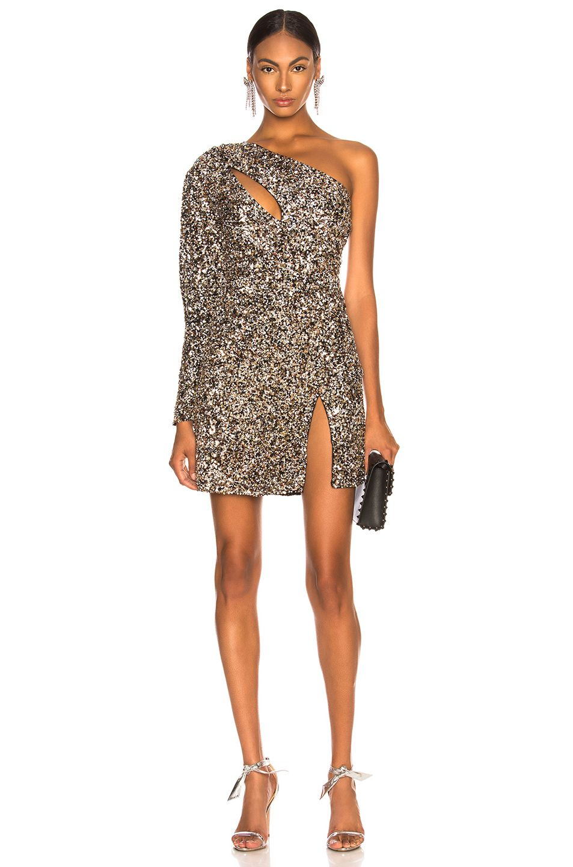 2b7e2f69ba25 Peace + Love Silver Embellished Sequin One Shoulder Dress | Products |  Dresses, Sequins, Silver dress