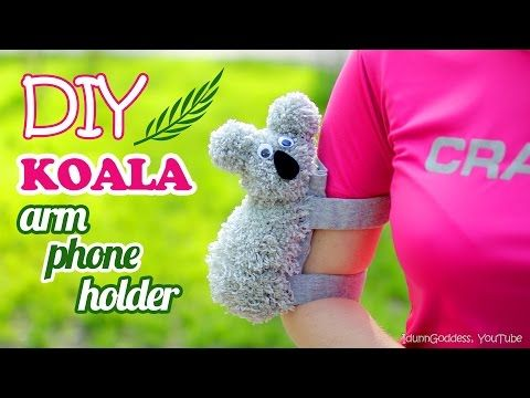 My channel is dedicated to creativity how to and how to diy do this brilliant step by step video craft tutorial will show you an easy way to make a sports armband phone case that looks like koala solutioingenieria Choice Image