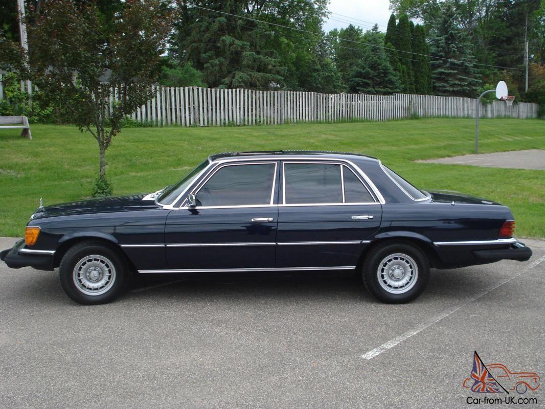 1979 mercedes benz 300sd rare w116 turbo diesel 78k miles sunroof