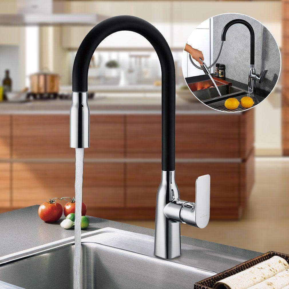 auralum® rubinetto miscelatore monocomando cascata lavello rubinetti