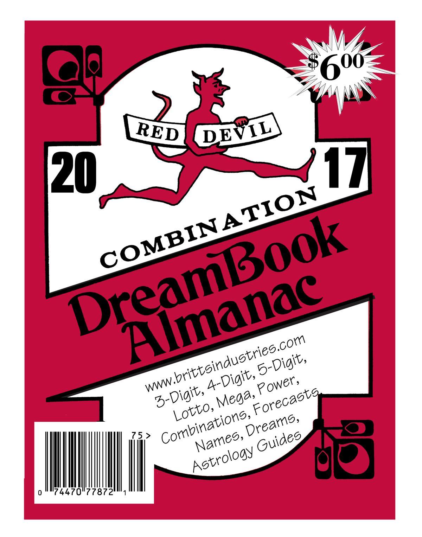 2017 Red Devil Almanac & Dream Book - Lottery Book | 2017