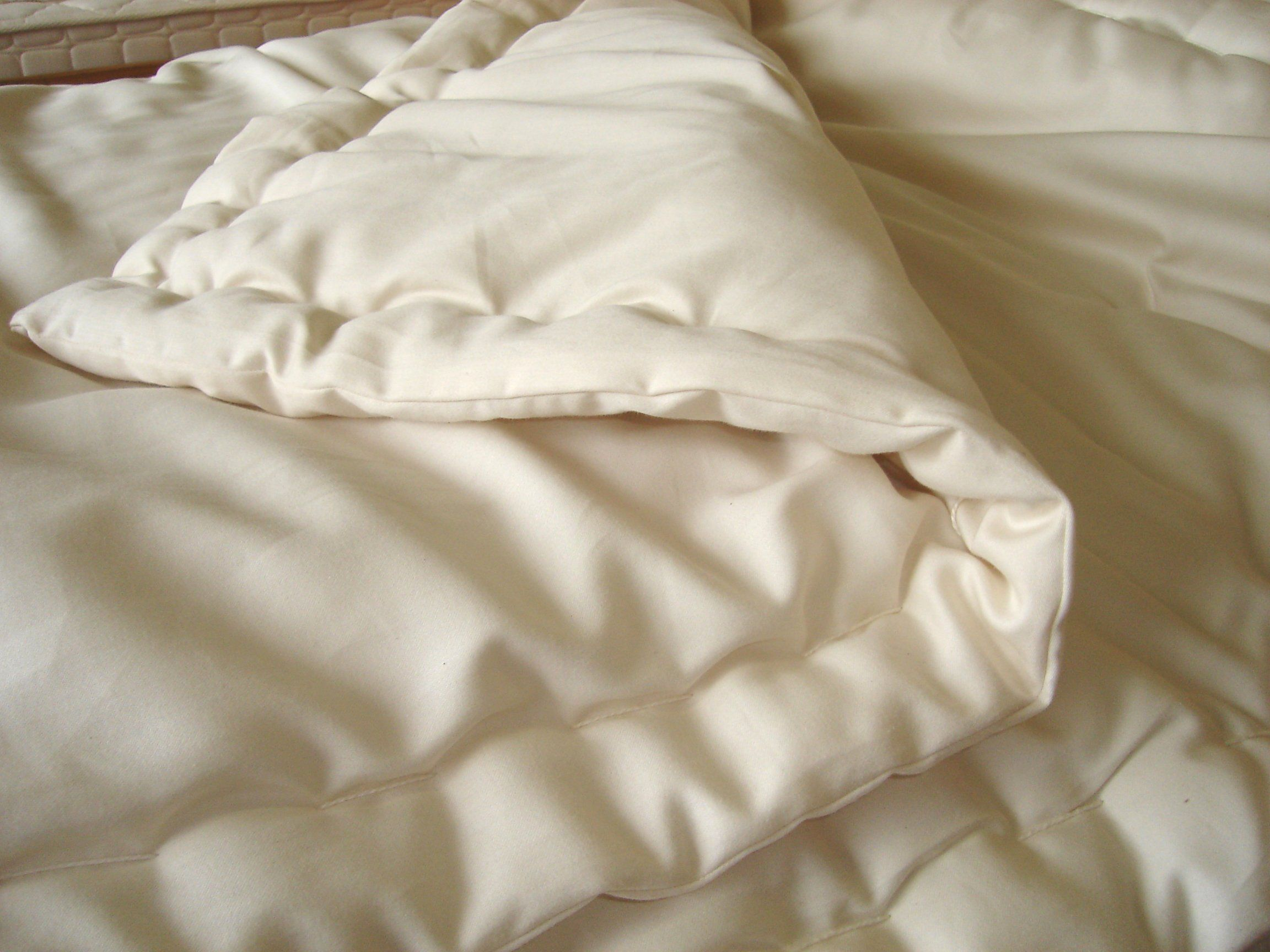 Certified Organic Wool Comforter Organic Wool Bed Linen Design Wool Mattress Pad