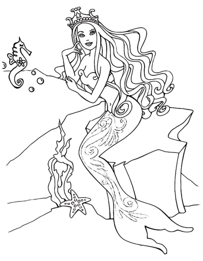 Printable Pictures Of Mermaids To Be Colored Welcome To One Of