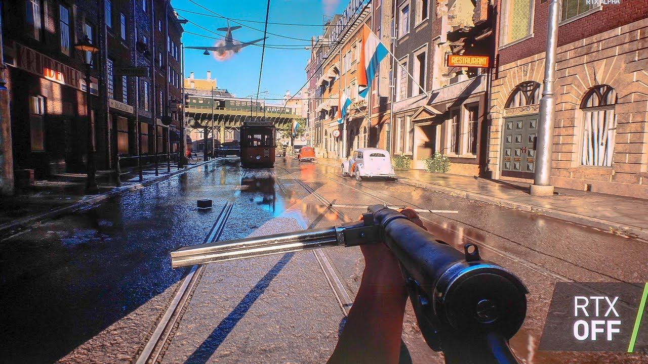 Battlefield V Gameplay with GeForce RTX 2080 Ray Tracing! [Exclusive