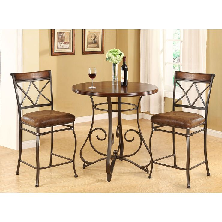 Madrid 3 Piece Dining Set  Harper Home Ideas  Pinterest  Dining Captivating Three Piece Dining Room Set 2018