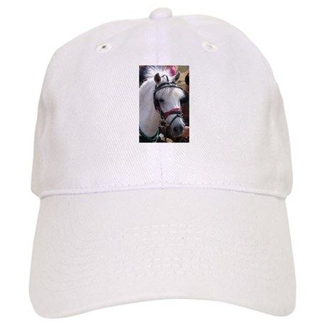 977310be8d0 PUNKY WHITE PONY Cap. Design by Richard Brookes