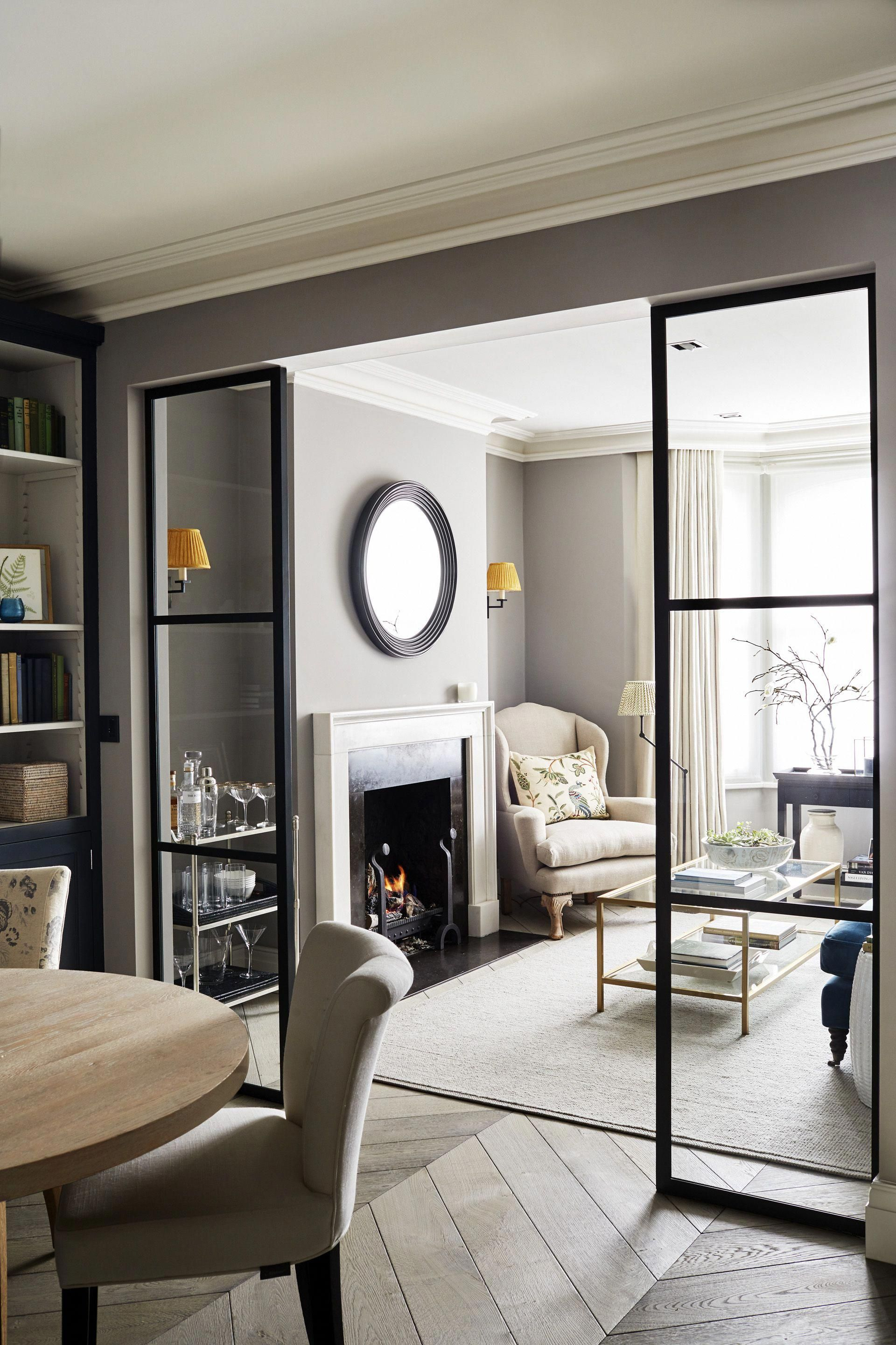 Townhouse Living Room Design: Sims Hilditch Parsons Green Townhouse Contemporary Sitting