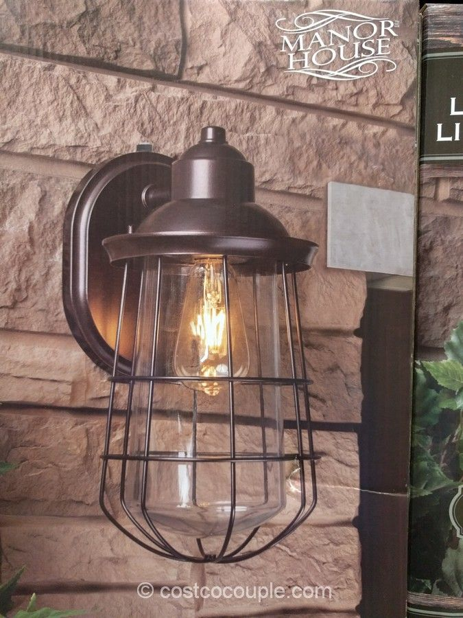 Manor House Vintage LED Coach Light Costco