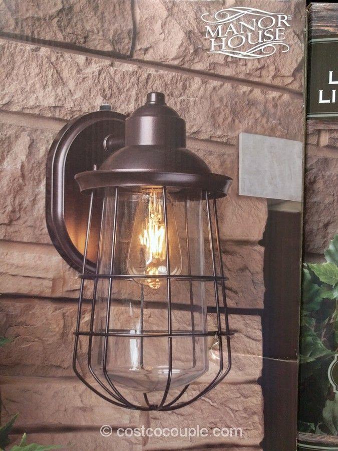 manor house vintage led coach light
