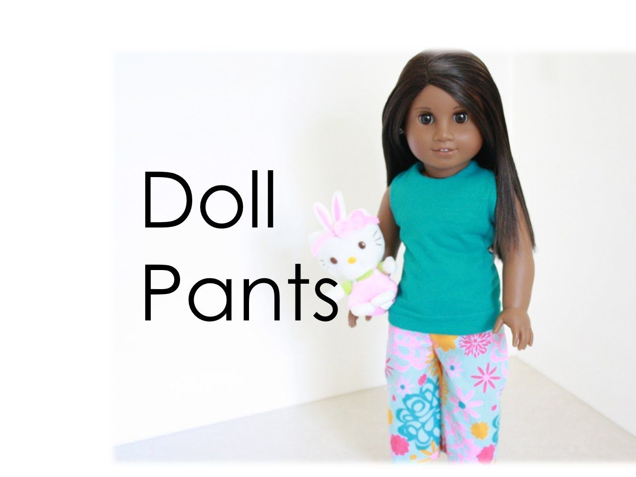 doll's pants,,,by request: reloaded - great beginning sewing project check us out at: http://www.myfroggystuff.blogspot.com facebook : http://www.facebook.com/pages/My-Frog...