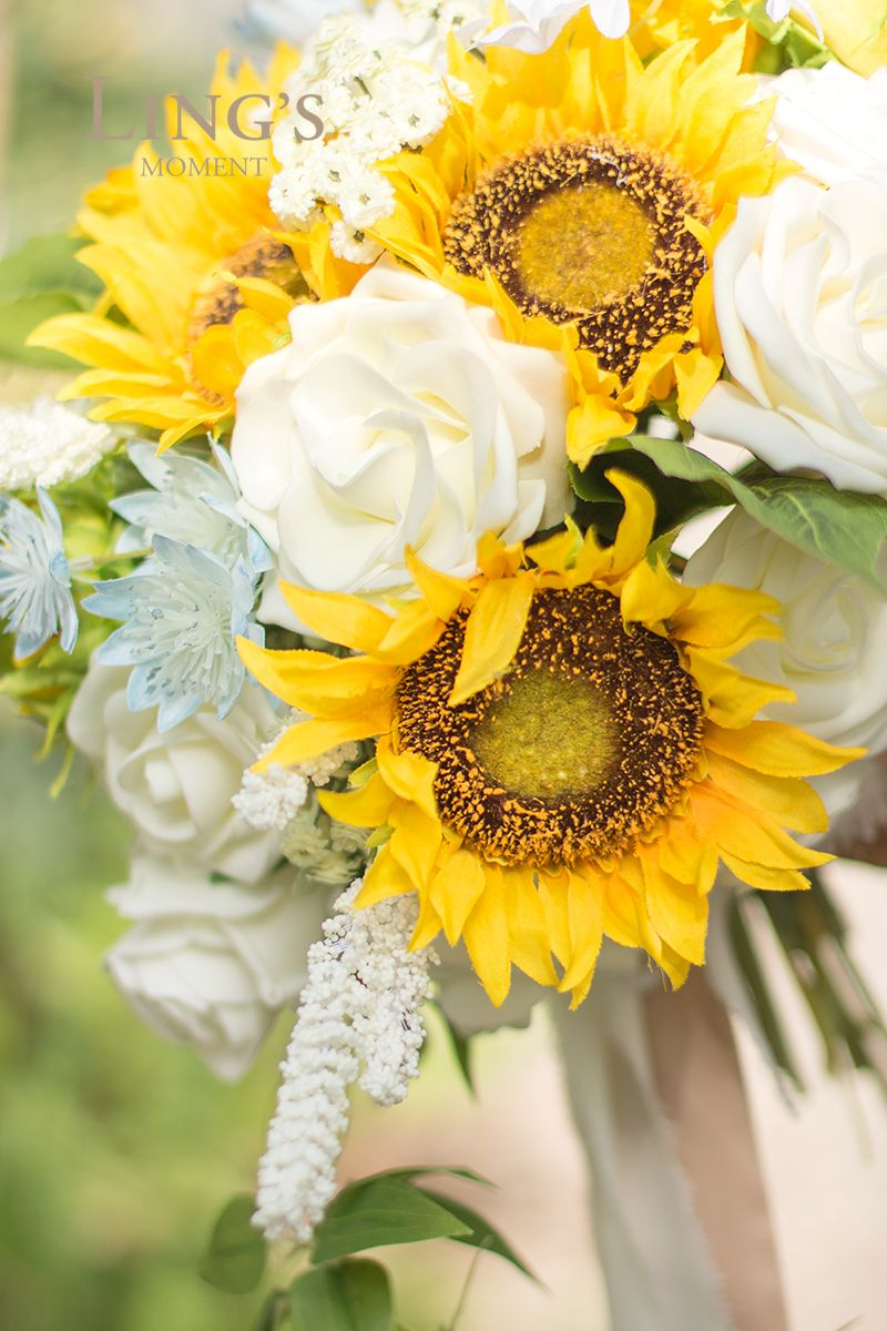 Intimate Sunflower In 2020 Artificial Flowers Sunflower Flowers
