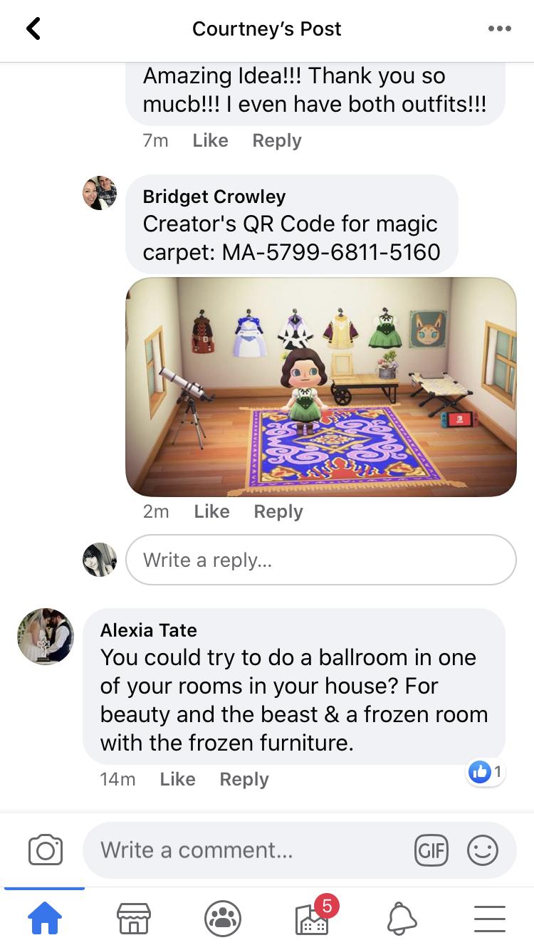 Pin By Jasmine Chiu On Animal Crossing Stuff In 2020 Animal Crossing Flying Carpet Magic Carpet