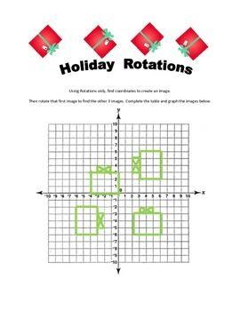 Holiday Rotations Holiday Math Activities Worksheets