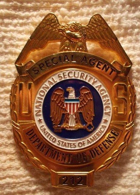 Novelty Nsa Law Enforcement Badges Police Badge Badge