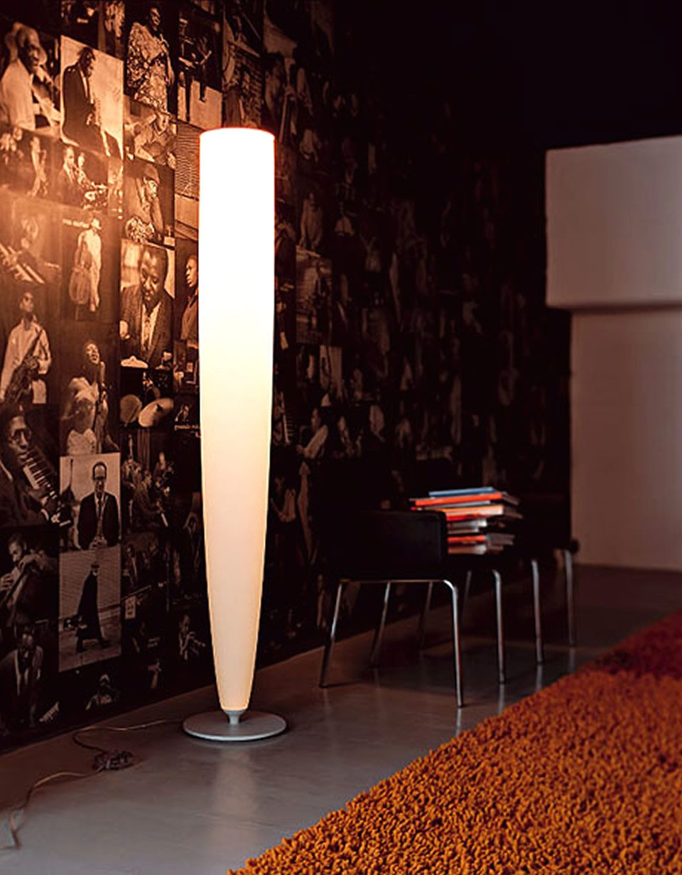 Captivating Sleek Floor For Contemporary Floor Lamps Closed Creative Wall Design And  Tiny Table Near Large Carpet