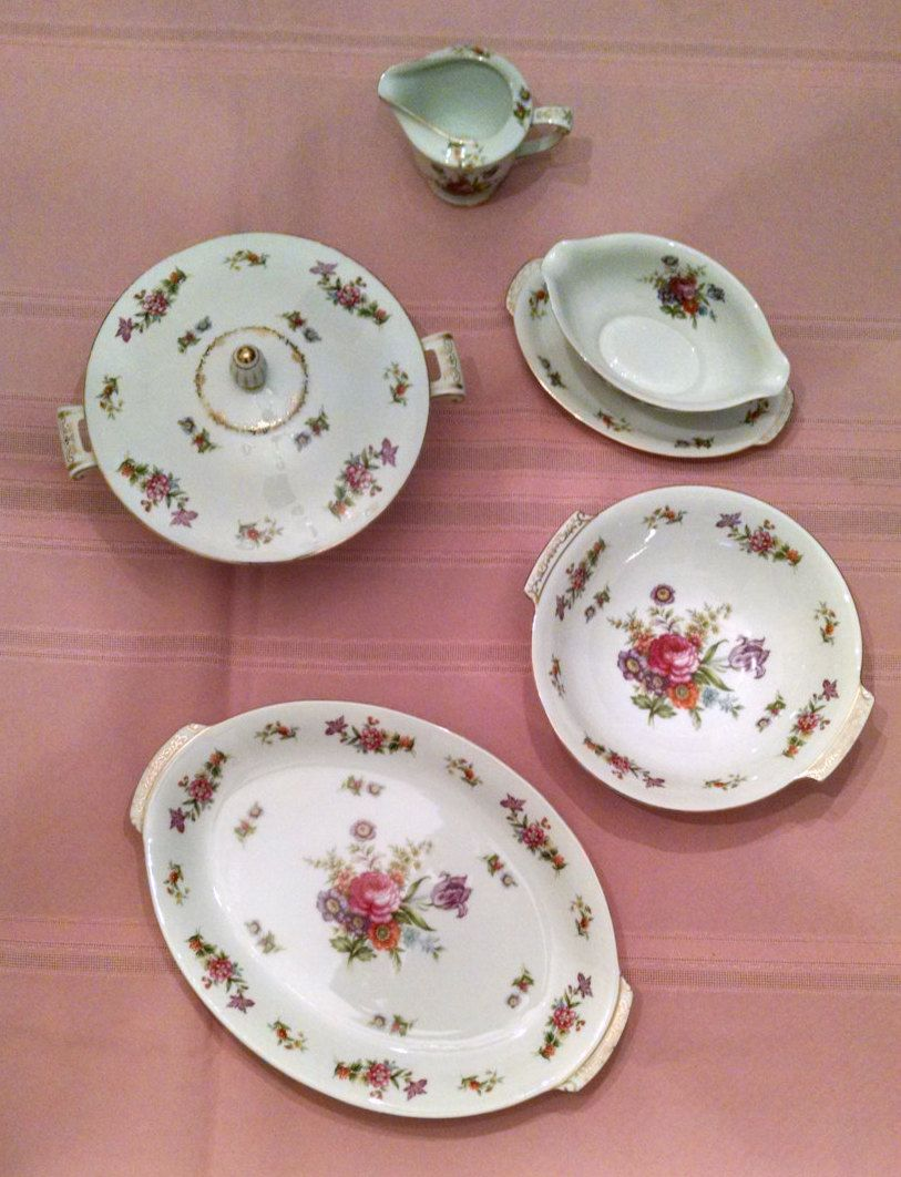 Harmony House Dresdania Completer Set Includes Oval Platter ...