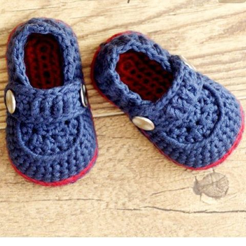 handmade #baby #boy #patik #crochet #elemegi #elişi #bebek http ...