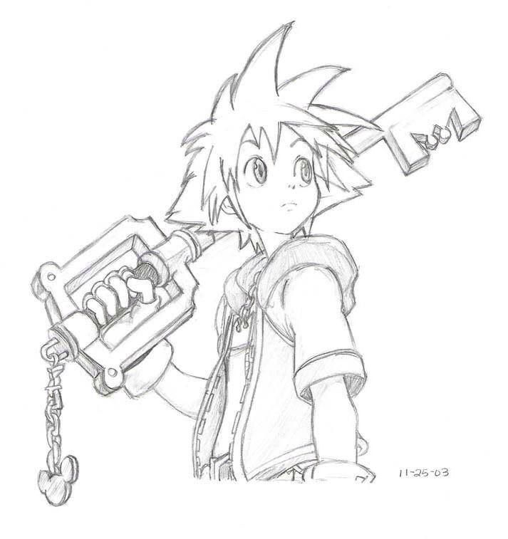Sora - Kingdom Hearts | kingdom hearts | Pinterest | Corazones del ...