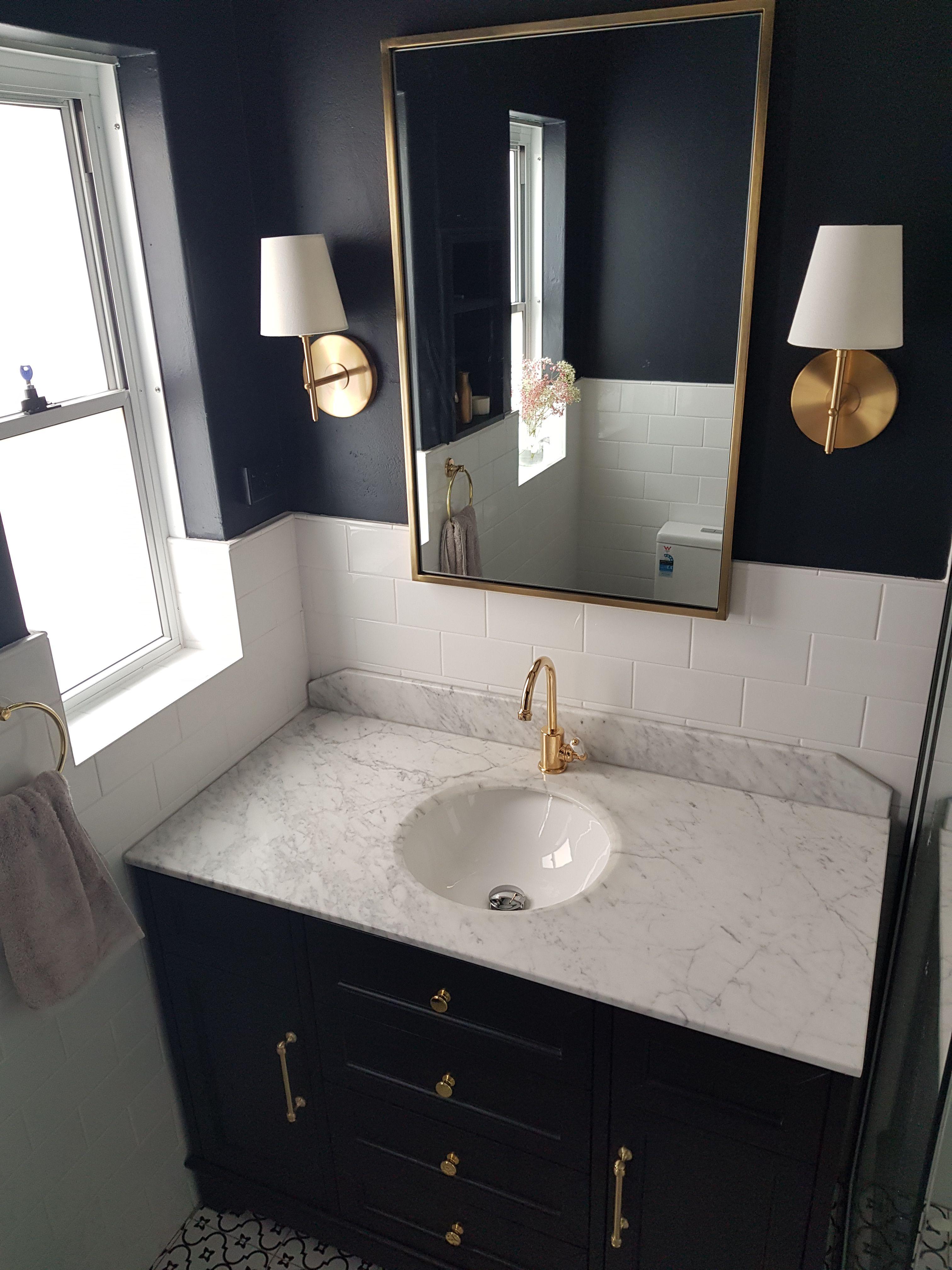 Hampton Bathroom Hampton Inspired Vanities Navy Bathroom Navy