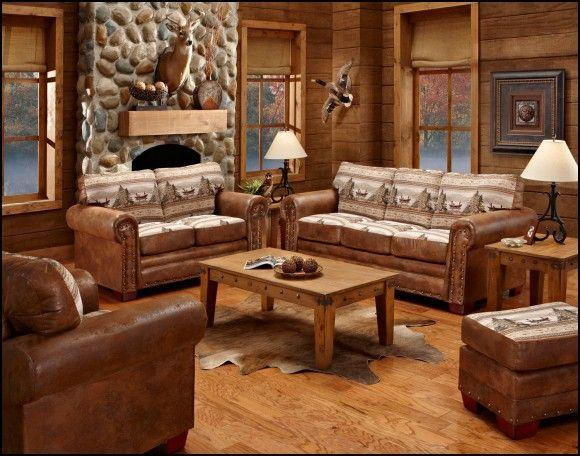 Lodge Style Sofas