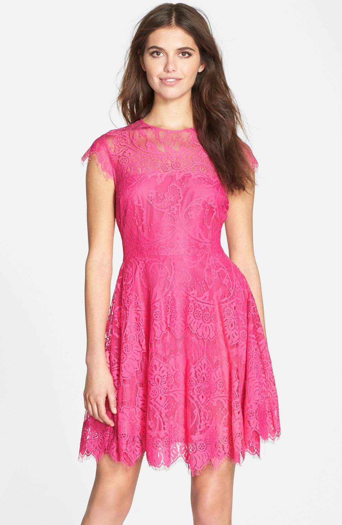 Such a pretty dress if hot pink is your Signature Color! BB Dakota ...