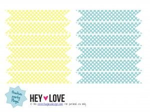 Free Printable PolkaDot Flags  Party flags Flags and Free