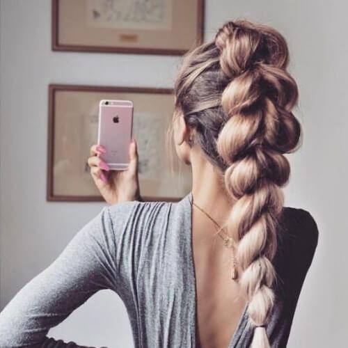 50 liebenswerte Braid Frisuren für langes Haar #messybraids