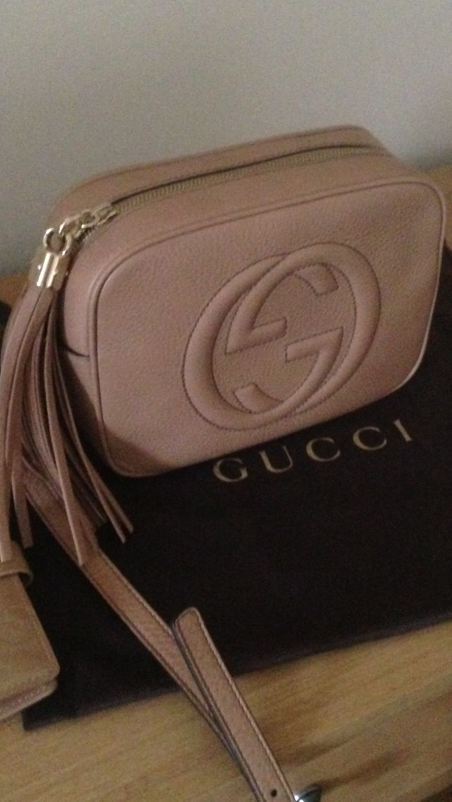 660da2707772 Gucci soho disco. Rose beige crossbody