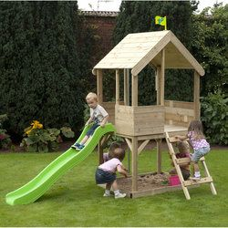 TP Adventure Playhouse With Slide