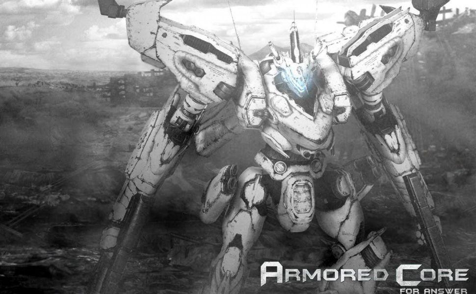 Armored core white glint hd wallpaper wallpapers pinterest armored core white glint hd wallpaper voltagebd Images