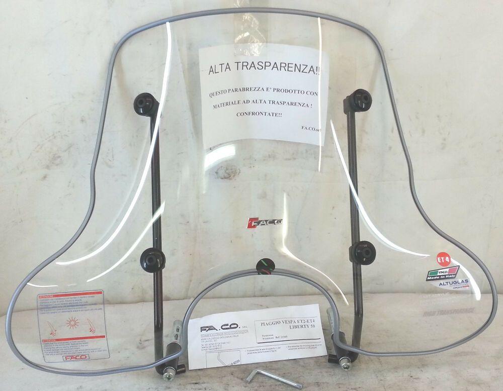 CUPOLINO CHIARO TRASPARENTE VESPA GTS 125ie-250ie-300ie cod.28380