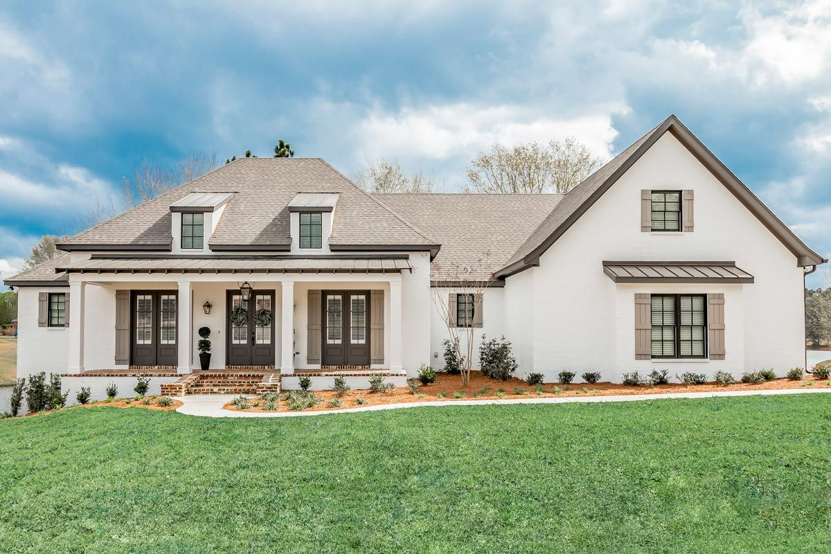 Plan 51802HZ: Charming Southern Home Plan With Optional