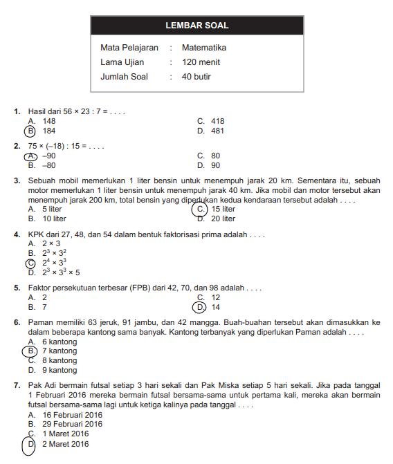 Soal Ipa Kelas 9 Semester 2 Dan Jawabannya