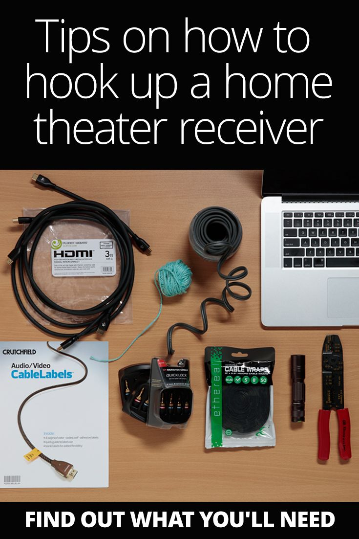 How To Set Up Your Home Theater Receiver Men Cave And Basements Wiring Guide Setup Tips On Hook It Tweak