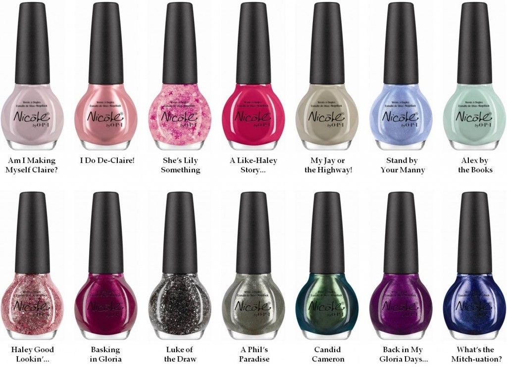 Win the Nicole by OPI Modern Family Collection | Modern family and OPI
