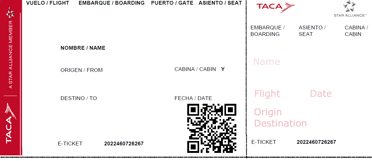 Fake Airline Ticket For Class Png 1190 515 Airline Tickets Fake Plane Ticket Airline