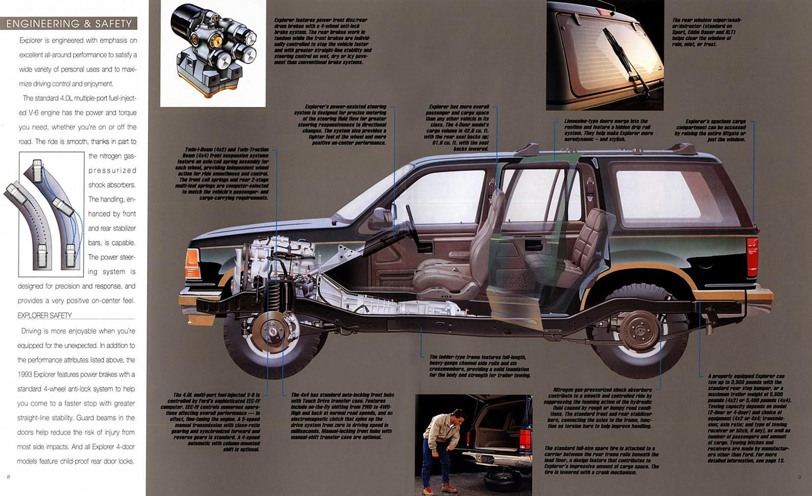 1993 Ford Explorer 08 09 With Images Ford Explorer Jurassic