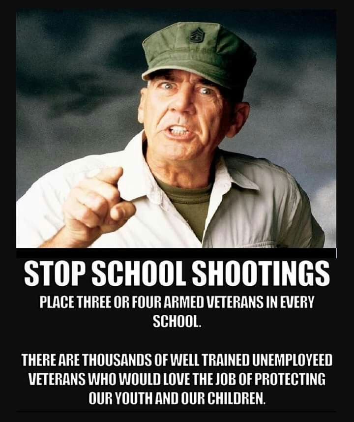 School Shooting Revolver: Stop School Shootings